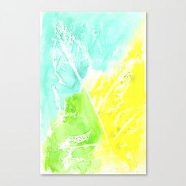 Resist Leaves Canvas Print