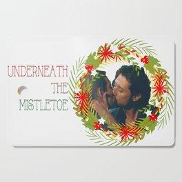 Queliot; Underneath the mistletoe Cutting Board