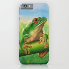 Green Treefrog Slim Case iPhone 6s