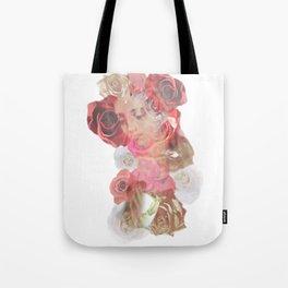 La Virgen de Guadalupe series: Las Rosas Tote Bag
