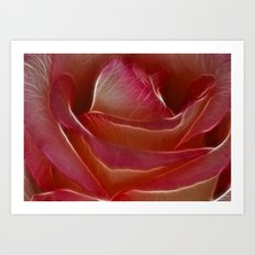 Pretty Rose Art Print