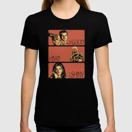 The Good, the Bad, and the Shiny - Firefly T-shirt