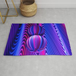 Colours in Invert Glass Ball Rug