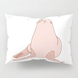 Cute Sea Lion Illustration Pillow Sham