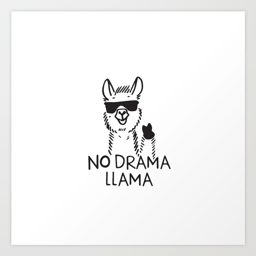 Ipod Pillow Llama Art Prints Society6