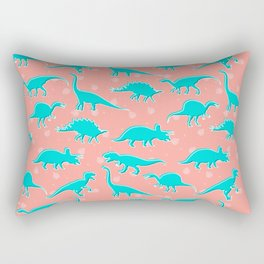 Dino Alley Rectangular Pillow