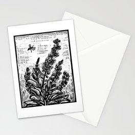 Sky Blue Lupine Stationery Cards