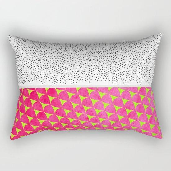 Dragon Fruit Deconstructed Rectangular Pillow