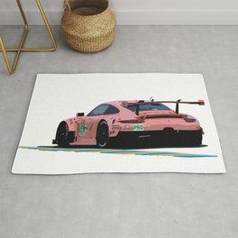 911RSR Pink Pig Rug