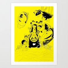 LAGORCA 01 Art Print