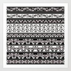 Lace Boarder Art Print