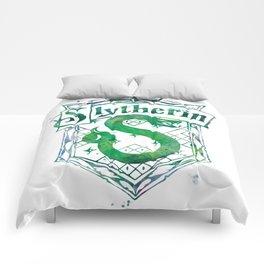 Slytherin Crest Comforters