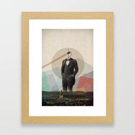Retro vision Framed Art Print