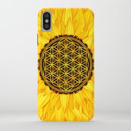 Flower of Life -Sunflower #1 iPhone Case