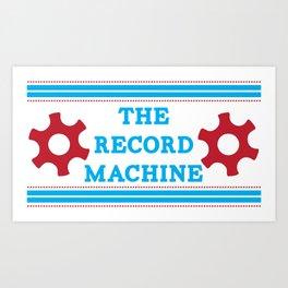 The Record Machine Mug Art Print