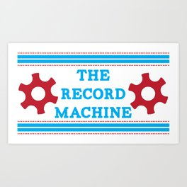 The Record Machine Mug Art Print
