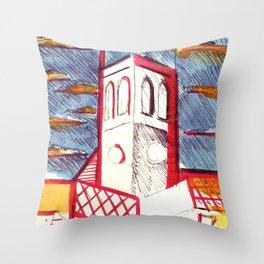 St Peters Church, Brighton Throw Pillow