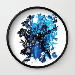 Mask Flow Wall Clock