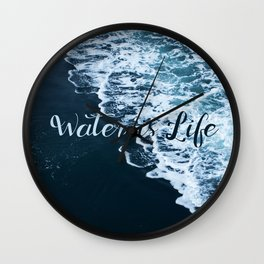 Water is Life Wall Clock