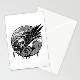 Noisy raven Stationery Cards