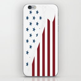 Firefighter USA Flag iPhone Skin