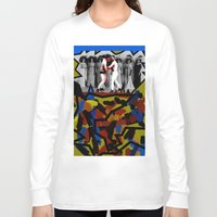 boys Long Sleeve T-shirts featuring Boys Will Be Boys by AF Knott