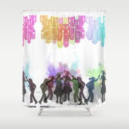 Until When? Shower Curtain