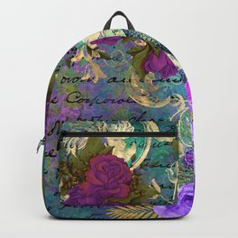 Feather peacock 22 Backpack