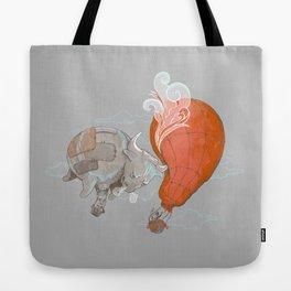 Hot Air BULLoon Tote Bag