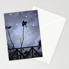 Fantasy Dark Night Scene Illustration Stationery Cards