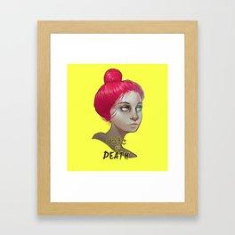 date or death Framed Art Print