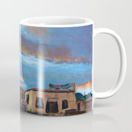 Pastel Painting | Sunset in Tibet Coffee Mug