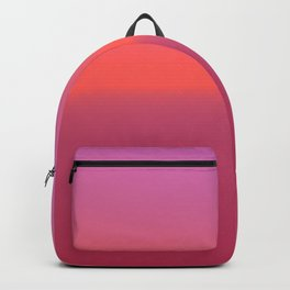 Pink TwoTone Backpack