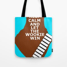 let the wookie win Tote Bag