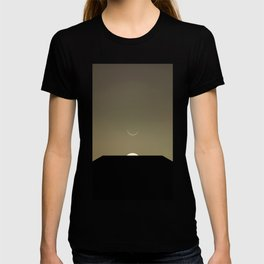 2001 Space Odyssey Minimal Dawn of Man Monolith Alignment T-shirt