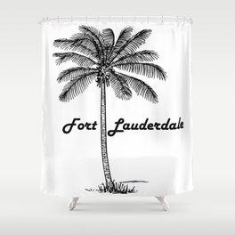 Fort Lauderdale Shower Curtain