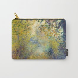 """Auguste Renoir  """"In the Woods"""" Carry-All Pouch"""