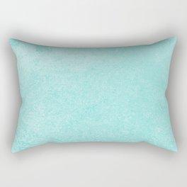 Pastel Teal Blue Grunge Ombre Pastel Texture Vintage Style Rectangular Pillow