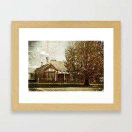 Boorowa Cottage Framed Art Print