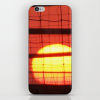 volleyball iPhone & iPod Skins featuring Volleyball by Sierra Christie