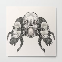 Arrrg Metal Print