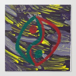 226 - Yin-Yang I Canvas Print