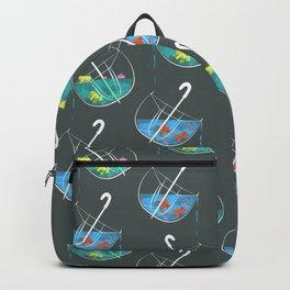 Umbrellas Pattern Backpack