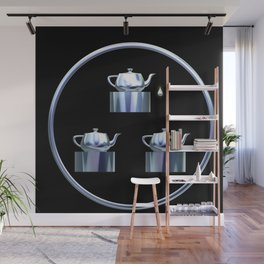 Tea for Three Wall Mural