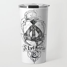 The Cunning House of Slytherin Travel Mug