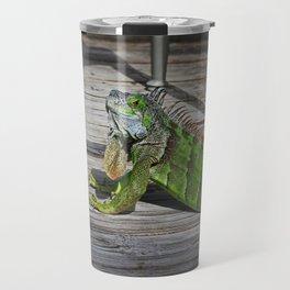 Cayman Iguana II Travel Mug