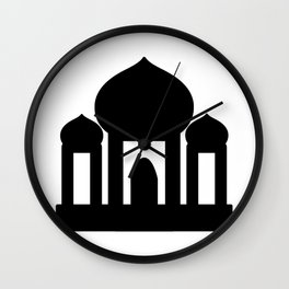 Mosque Icon Wall Clock