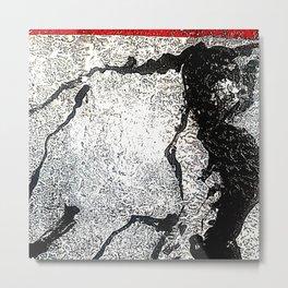 Poetic Texture II Metal Print
