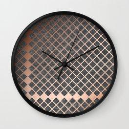 Copper & Concrete 02 Wall Clock