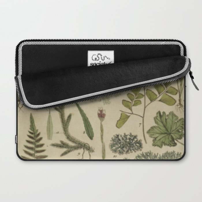 Ferns And Mosses Laptop Sleeve